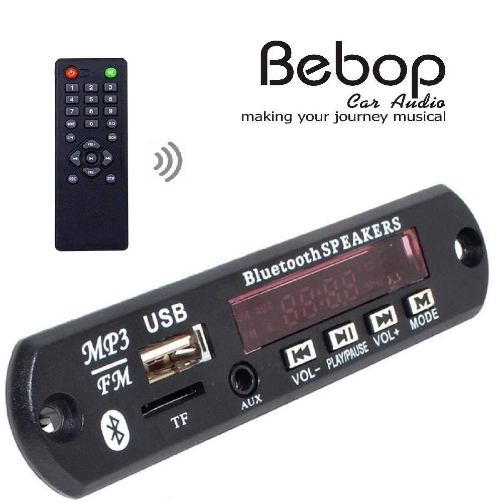 Bebop Bluetooth FM USB AUX Card MP3 stereo