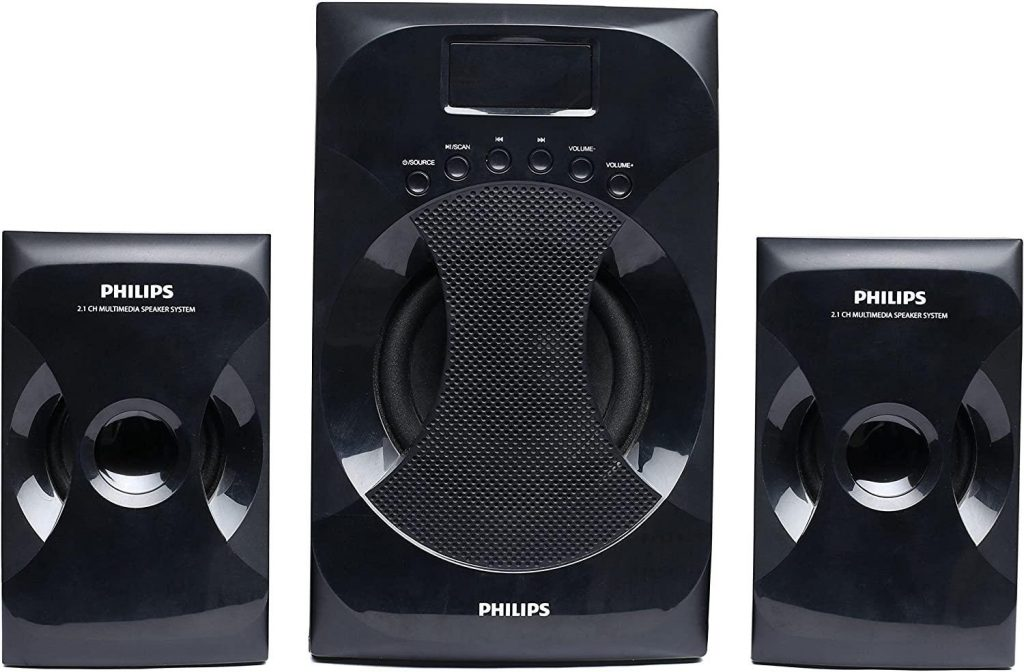 Philips MMS-4040F/94 2.1 Channel Speaker System