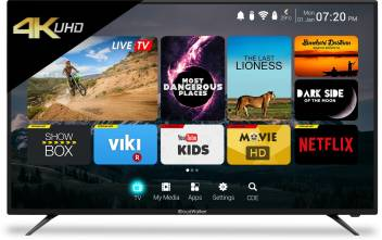 CloudWalker 4K Ultra HD Smart LED TV