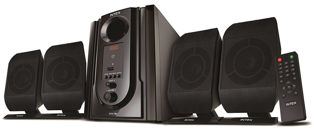 Intex IT-301 FMU OS Computer Speakers