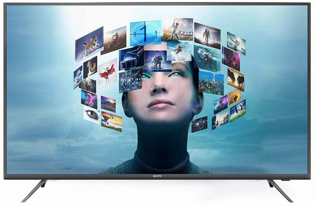 Sanyo 4K UHD Smart IPS LED TV