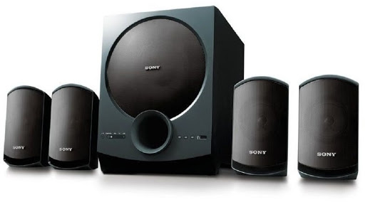 Sony SA-D10 4.1 Channel Speakers