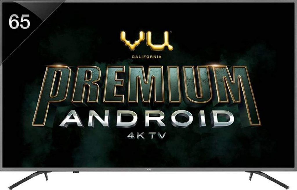 VU Pixelight 4K Ultra HD Smart LED TV