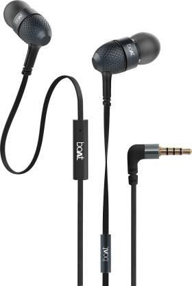 boAt Bassheads 220 in - Ear Wired Earphones