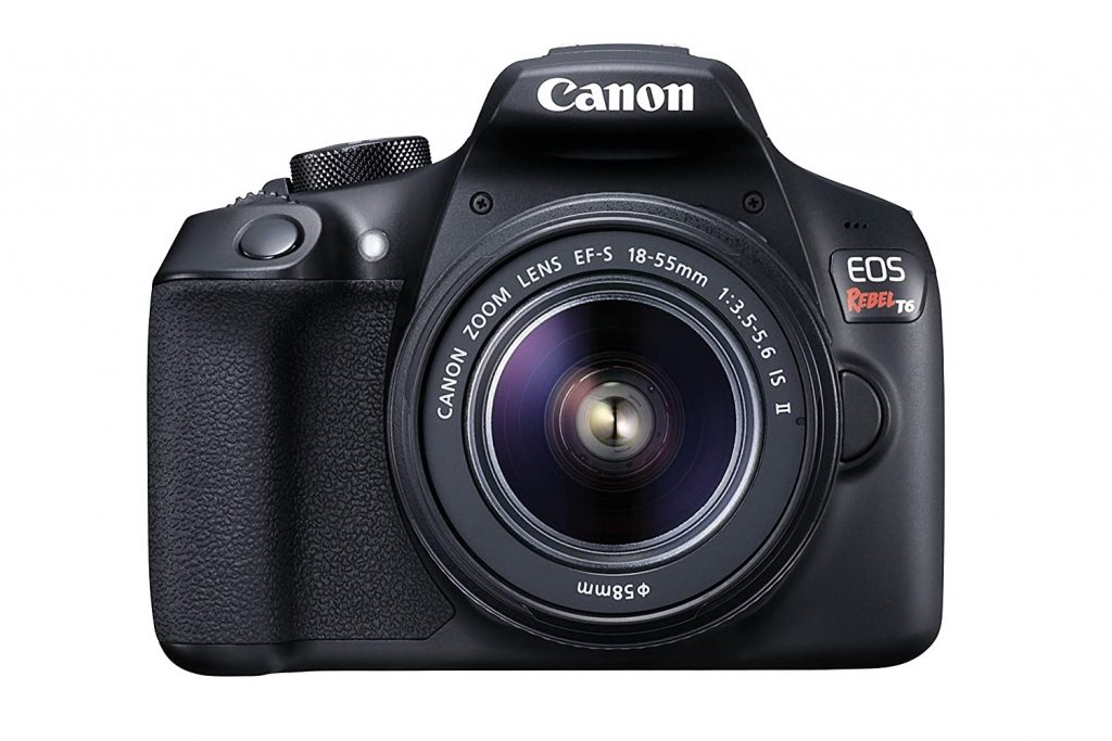 Canon EOS Rebel T6 DSLR with Lens
