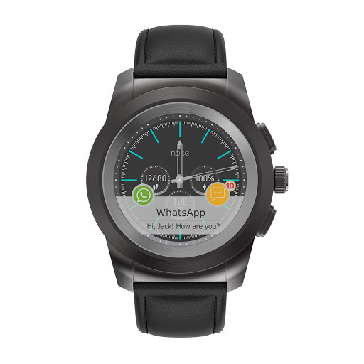 Noise Fit Fusion Hybrid Smart Watch