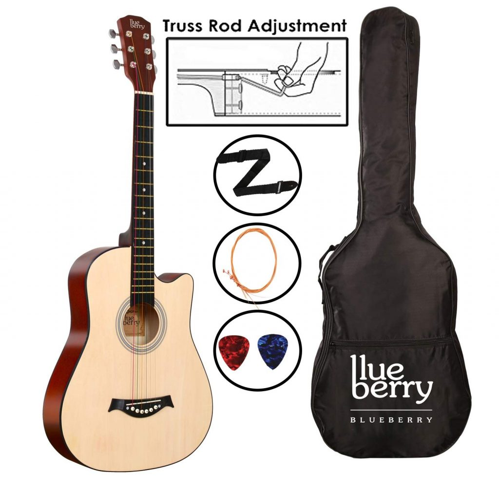 Blueberry B-D38 Acoustic Guitar