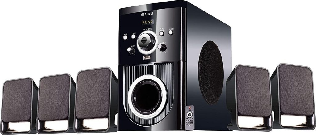 Flow Buzz Home Theater System